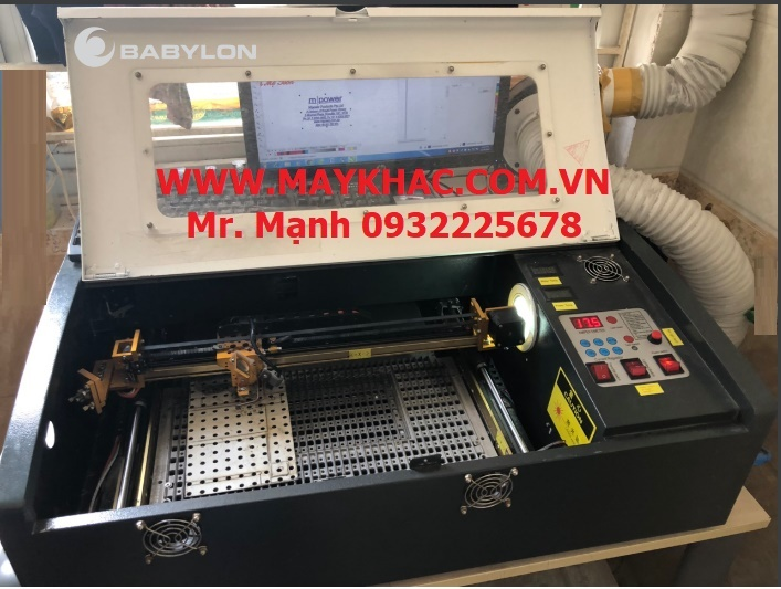 may khac dau laser 3020 - 50 w